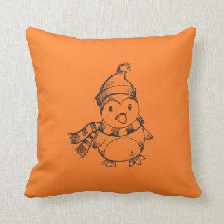 Penguin Sketch Cushion
