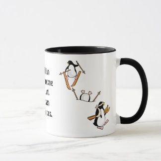Penguin Ski Adventure Mug