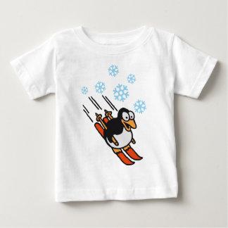 Penguin ski baby T-Shirt