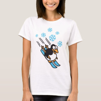 Penguin ski T-Shirt