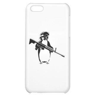 Penguin soldier iPhone 5C cases