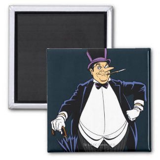 Penguin Square Magnet