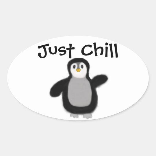 Penguin Sticker Decal