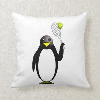 Penguin Tennis Cushion
