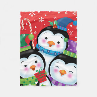 Penguin Trio Blanket