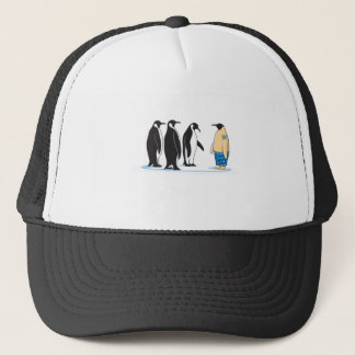 Penguin Trucker Hat