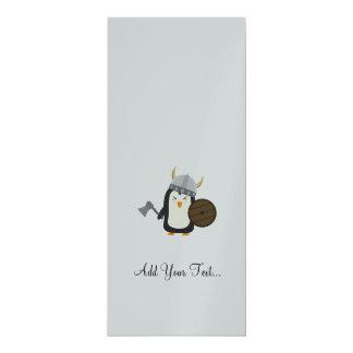 Penguin Viking 10 Cm X 24 Cm Invitation Card