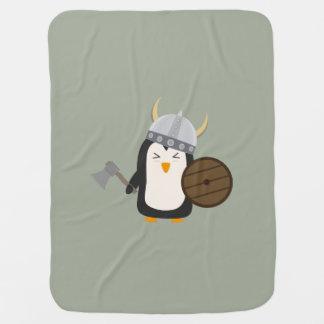 Penguin Viking Baby Blankets