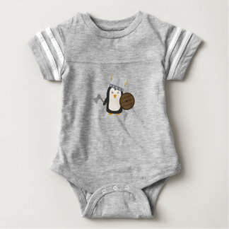Penguin Viking Baby Bodysuit