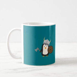 Penguin Viking Coffee Mug