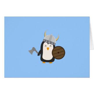 Penguin Viking Note Card