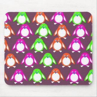 Penguin Wallpaper Mouse Pads