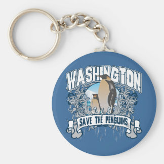 Penguin Washington Key Ring