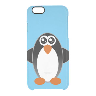 Penguin watery eyes clear iPhone 6/6S case