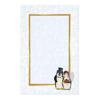 Penguin Wedding Stationery