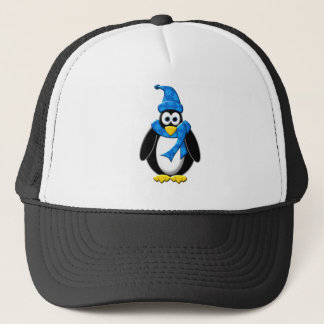 Penguin Winter Design Trucker Hat