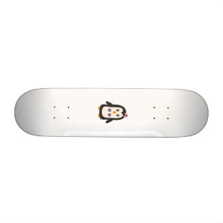 Penguin with bikini 20.6 cm skateboard deck