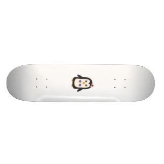 Penguin with bikini 21.3 cm mini skateboard deck