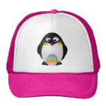 Penguin with Easter Egg Hat