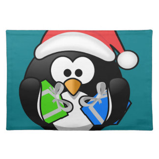 Penguin with Gifts Placemat