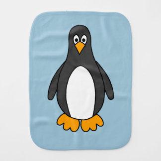 Penguin Baby Burp Cloths