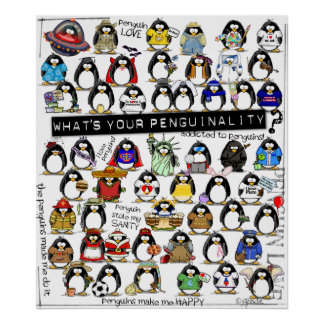 Penguinality Poster