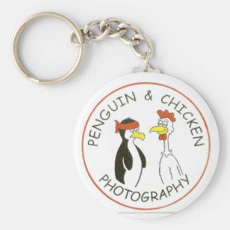 penguinchicken keychain