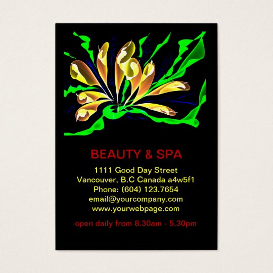 Penguinone Beauty Spa Salon Business Card
