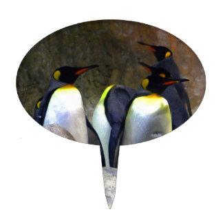 Penguins 1 cake pick