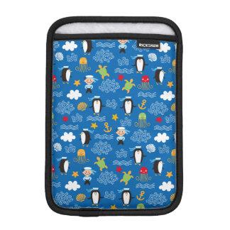 Penguins and Sailors iPad Mini Sleeves