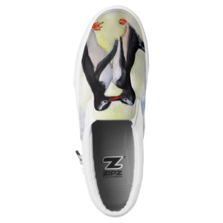 Penguins Art Shoes