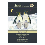 Penguins Birthday Party Invitations for Kids