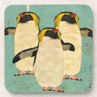 Penguins Blue Lagoon Coaster