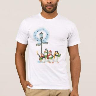 Penguins Caroling T-Shirt