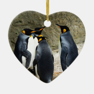 Penguins Christmas Ornament