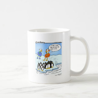Penguins flew south mugs