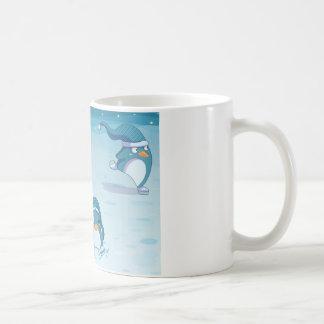 Penguins fun mug