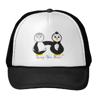 Penguins Getting Married Tying The Knot Hats