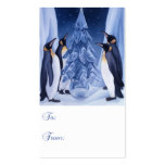 Penguins Gift Tag Business Card