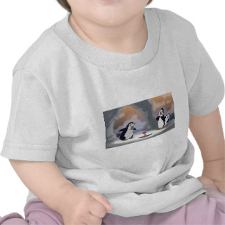 Penguins in the Spring Tshirts