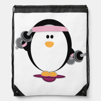 Penguins Lift Tote Back Bag Rucksack