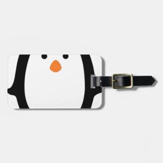 Penguins Luggage Tag