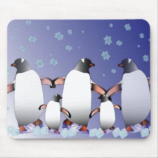 Penguins Mouse Mat