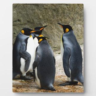 Penguins Photo Plaque