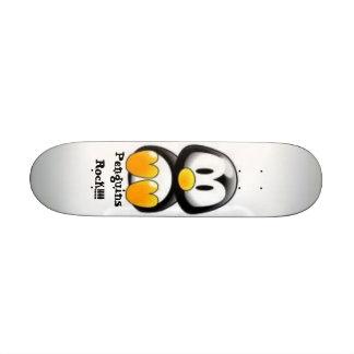 Penguins Rock!!!! Skate Decks
