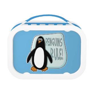 Penguins Rule Lunch Box