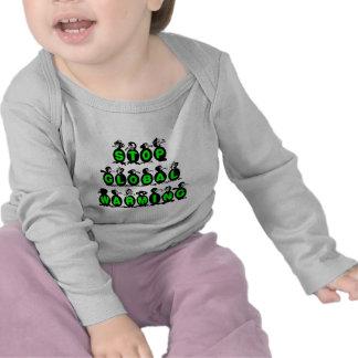 Penguins stop global warming t-shirts