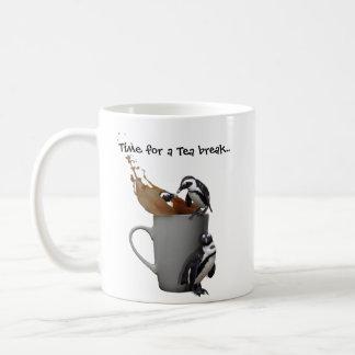 Penguins Tea break Coffee Mugs