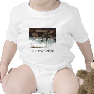 Penguins Baby Bodysuit