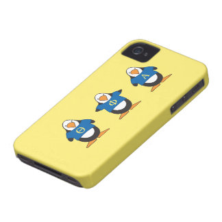 Penguins with Shirts Case-Mate iPhone 4 Case